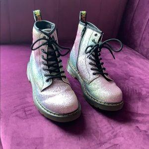 Doc Martin sparkle girls shoes